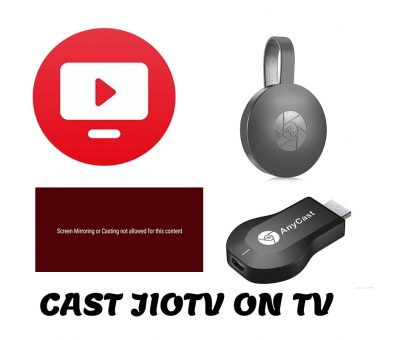 how to cast jiotv on tv