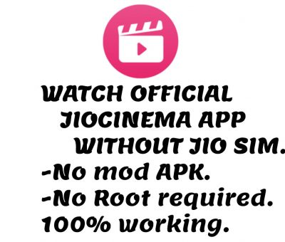 jiocinema without jio sim