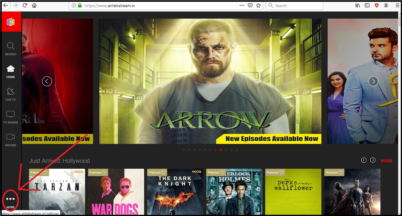 how to watch airtel tv on laptop and pc