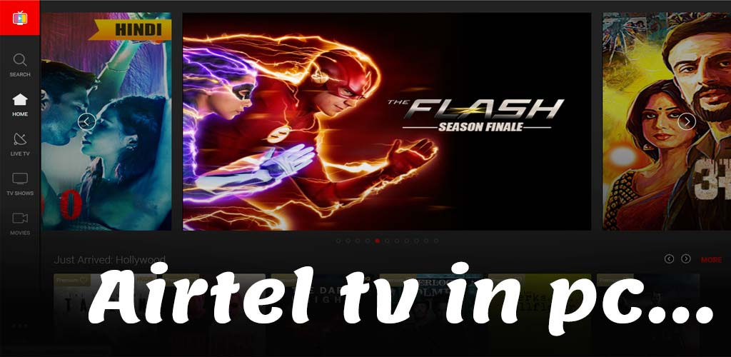 watch airtel tv on laptop
