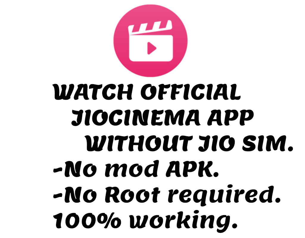 How to use jiocinema without jio sim | no mod apk 2019