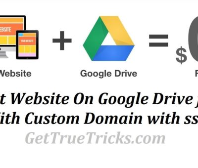 how to host website on google drive